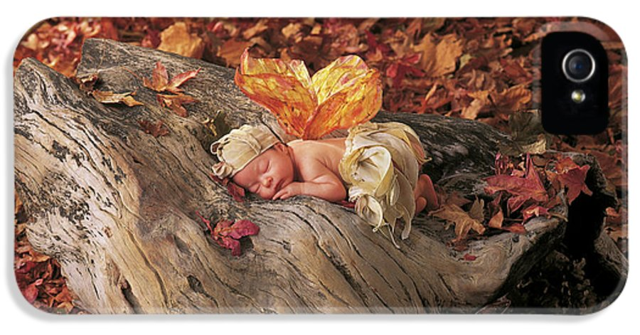 Fall IPhone 5 Case featuring the photograph Woodland Fairy by Anne Geddes