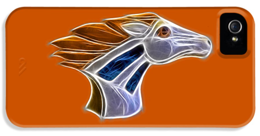 Bronco IPhone 5 Case featuring the photograph Glowing Bronco by Shane Bechler