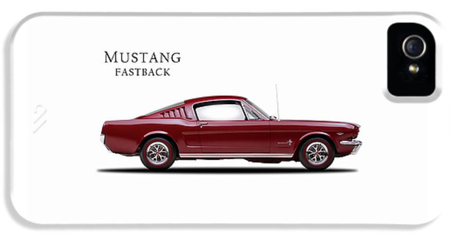Ford Mustang Fastback 1965 IPhone 5 Case featuring the photograph Ford Mustang Fastback 1965 by Mark Rogan