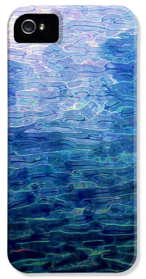 Abstract Digital Painting IPhone 5 Case featuring the digital art Awakening From The Depths Of Slumber by David Lane