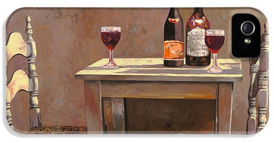 Wine IPhone 5 Case featuring the painting Barbaresco by Guido Borelli