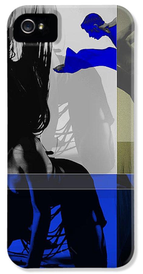 Romantic IPhone 5 Case featuring the photograph Blue Romance by Naxart Studio