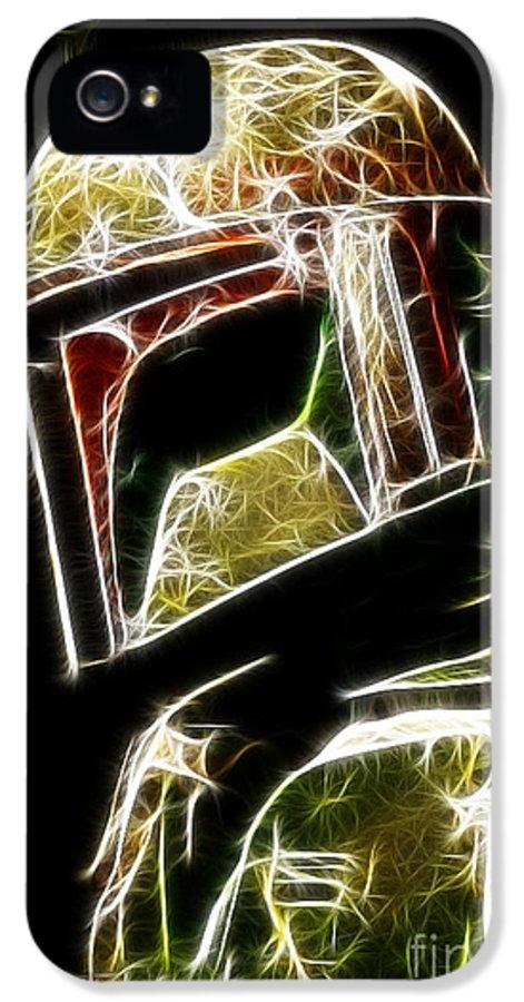 Boba Fett IPhone 5 Case featuring the photograph Boba Fett by Paul Ward