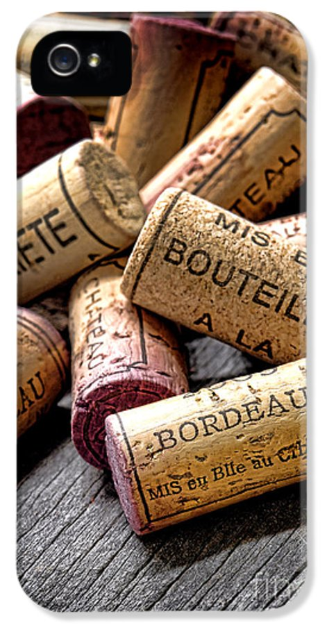 Wine Corks IPhone 5 Case featuring the photograph Bordeaux by Olivier Le Queinec