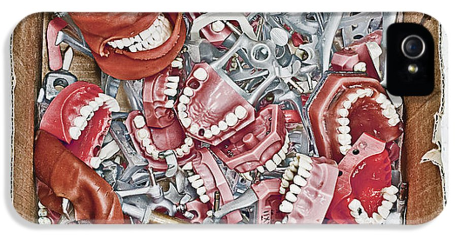 Advancement IPhone 5 Case featuring the photograph Box Of Dental Equipment by Skip Nall