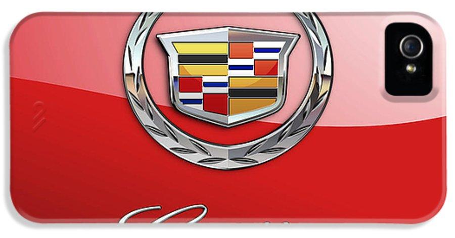 Cadillac Emblem 3 iphone case