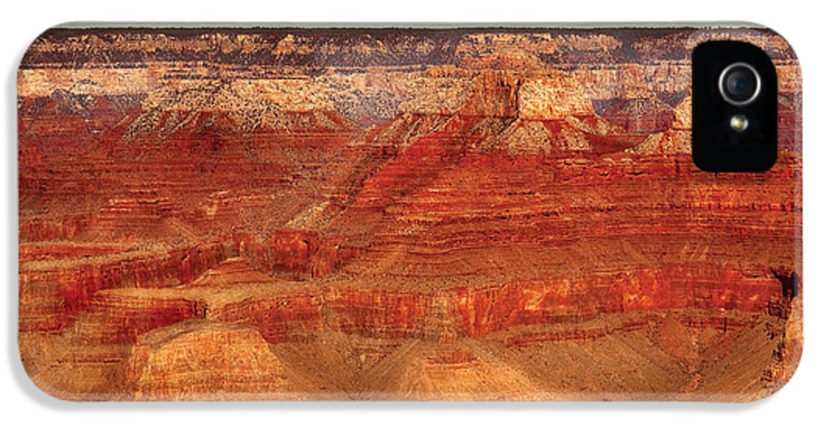 Savad IPhone 5 Case featuring the photograph City - Arizona - The Grand Canyon by Mike Savad