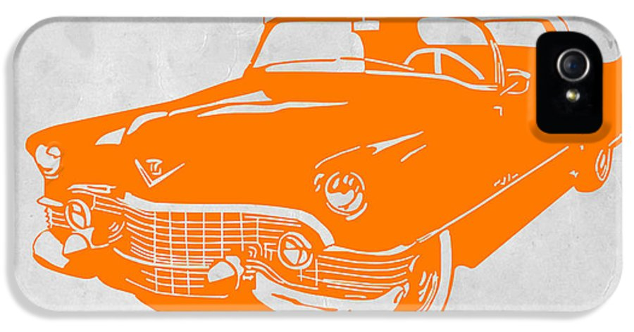 Chevy IPhone 5 Case featuring the digital art Classic Chevy by Naxart Studio