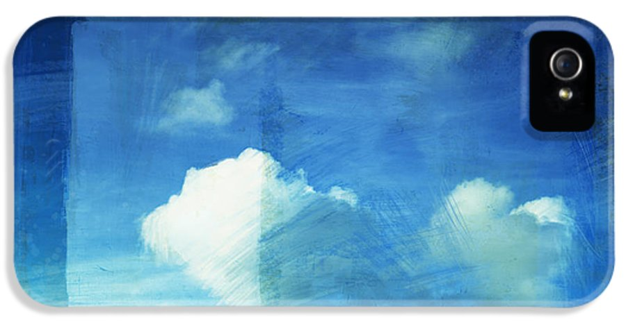 Abstract IPhone 5 Case featuring the painting Cloud Painting by Setsiri Silapasuwanchai