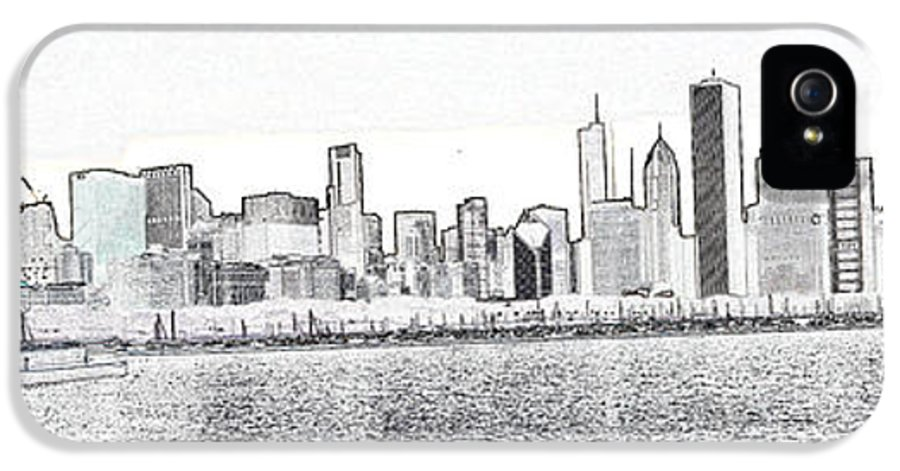 Chicago Illinois IPhone 5 Case featuring the photograph Cooler By The Lake by David Bearden