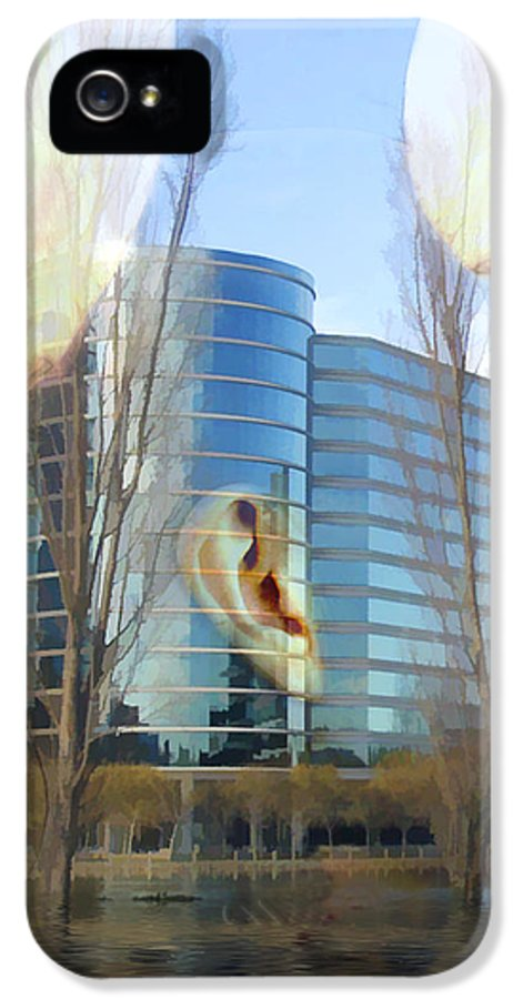 Head IPhone 5 Case featuring the photograph Corporate Cloning by Kurt Van Wagner