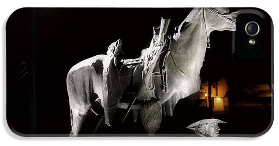 Prescott IPhone 5 Case featuring the photograph Cowboy At Rest by Christine Till