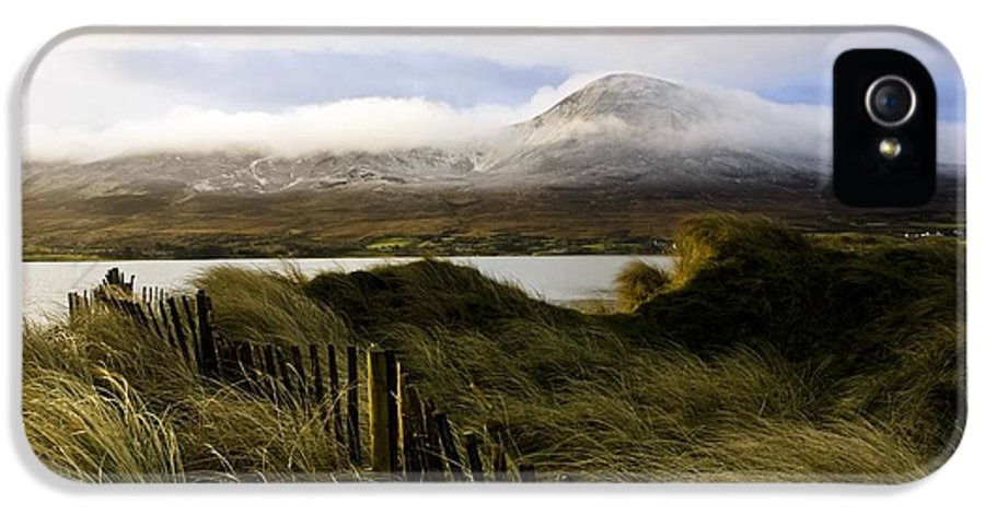 Cloud IPhone 5 Case featuring the photograph Croagh Patrick, County Mayo, Ireland by Peter McCabe