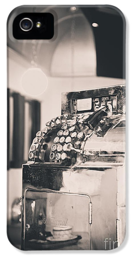 Cash Register Photograph IPhone 5 Case featuring the photograph Days Gone By by Christina Klausen