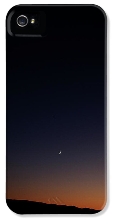 Death Valley National Park IPhone 5 Case featuring the photograph Death Valley - Last Light On The Desert by Christine Till
