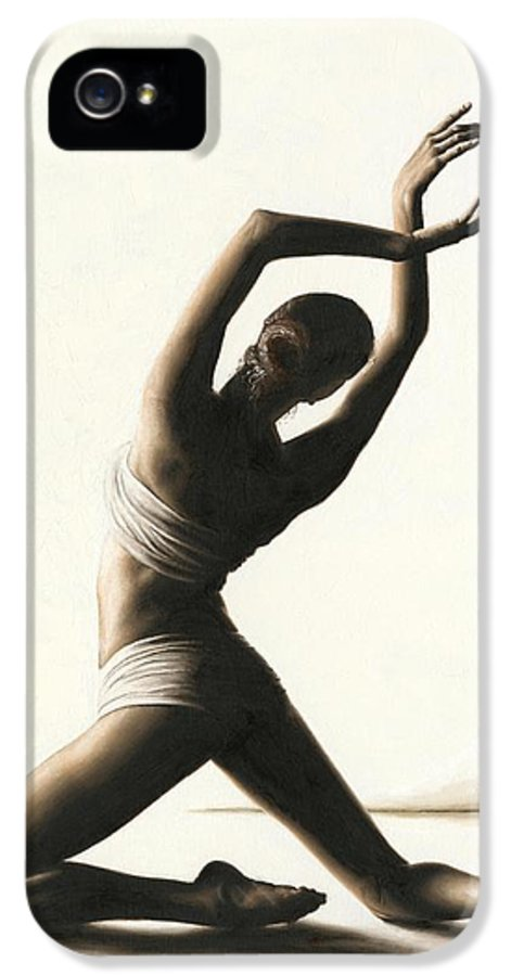 Dancer IPhone 5 Case featuring the painting Devotion To Dance by Richard Young