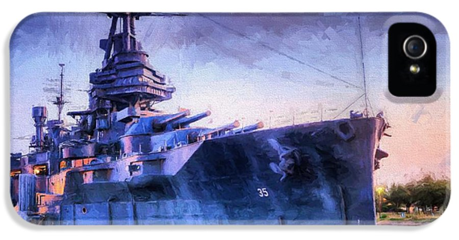 Battleship IPhone 5 / 5s Case featuring the photograph Dreadnought by JC Findley
