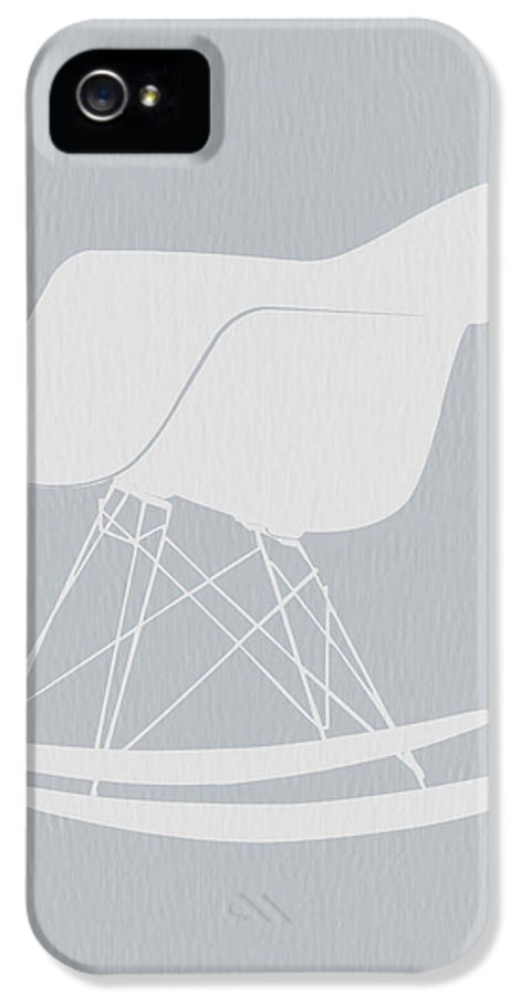 Eames IPhone 5 Case featuring the photograph Eames Rocking Chair by Naxart Studio