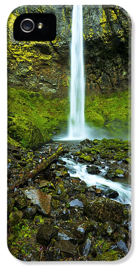 Northwest IPhone 5 Case featuring the photograph Elowah's Elegance by Chad Dutson