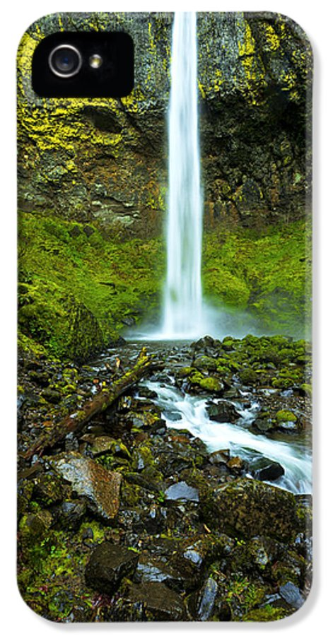 Northwest IPhone 5 / 5s Case featuring the photograph Elowah's Elegance by Chad Dutson