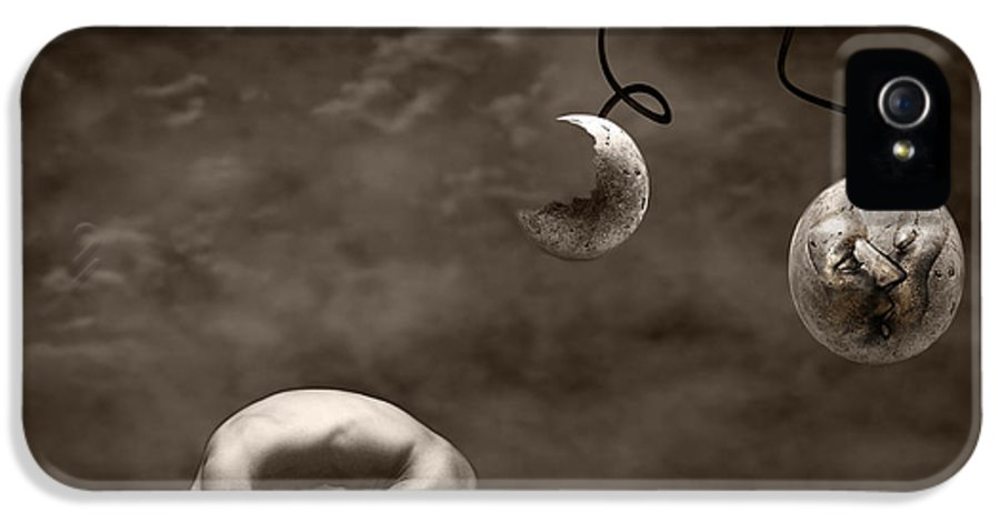 Surreal IPhone 5 Case featuring the photograph Emptiness by Jacky Gerritsen