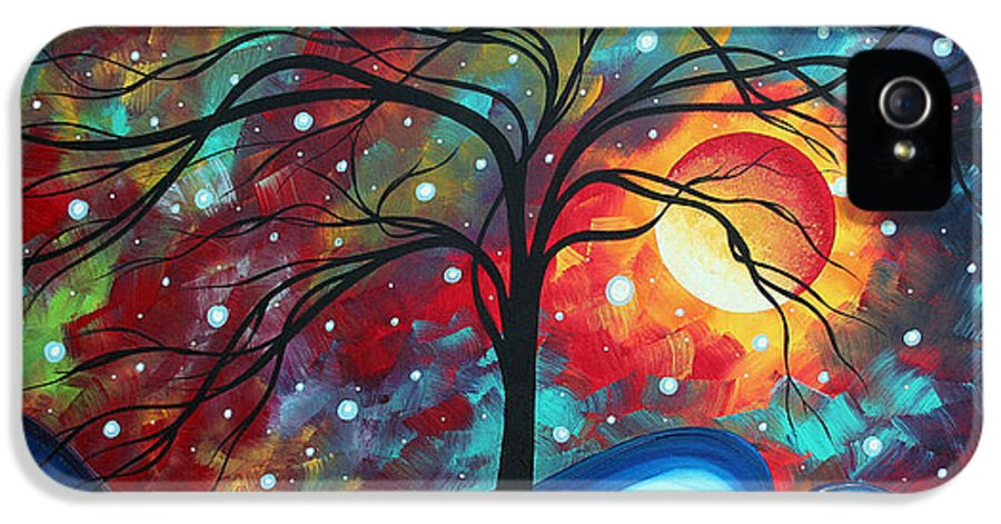 Original IPhone 5 Case featuring the painting Envision The Beauty By Madart by Megan Duncanson