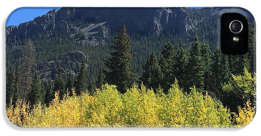 Landscape IPhone 5 Case featuring the photograph Fall At Twin Sisters by Kristen Anna