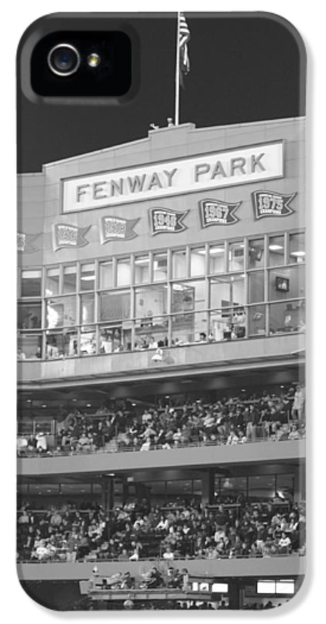 Fenway Park IPhone 5 Case featuring the photograph Fenway Park by Lauri Novak