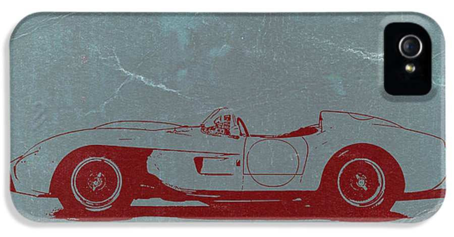 Ferrari Testa Rosa IPhone 5 Case featuring the photograph Ferrari Testa Rosa by Naxart Studio