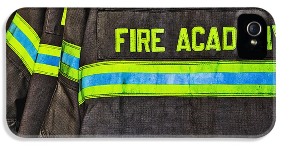 Accomplishment IPhone 5 Case featuring the photograph Fireman Jackets by Skip Nall