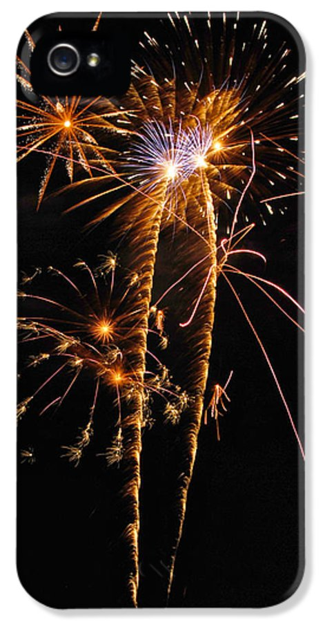 Fireworks IPhone 5 Case featuring the photograph Fireworks 2 by Michael Peychich