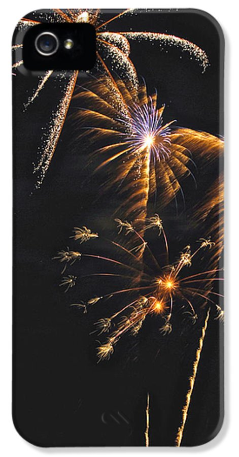 Fireworks IPhone 5 Case featuring the photograph Fireworks 3 by Michael Peychich