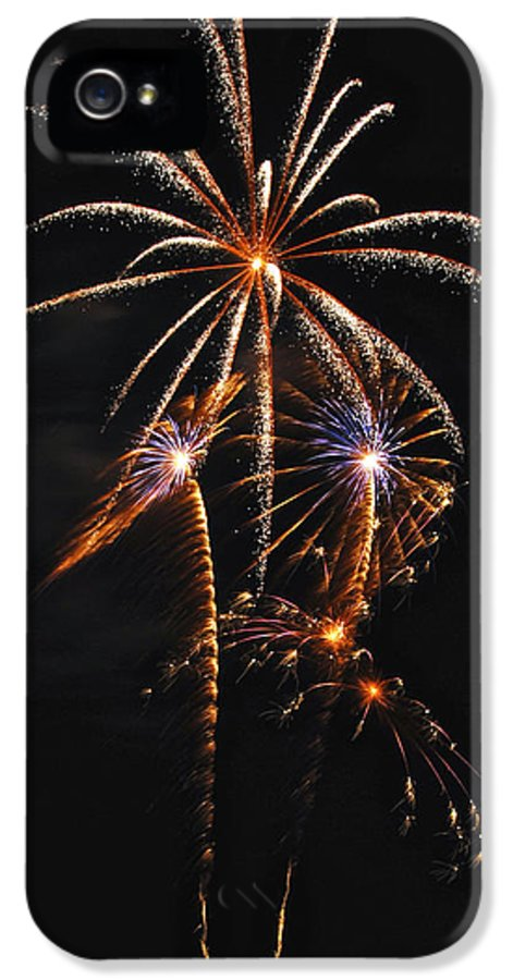 Fireworks IPhone 5 Case featuring the photograph Fireworks 5 by Michael Peychich