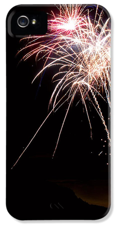 Fireworks IPhone 5 Case featuring the photograph Fireworks 70 by James BO Insogna