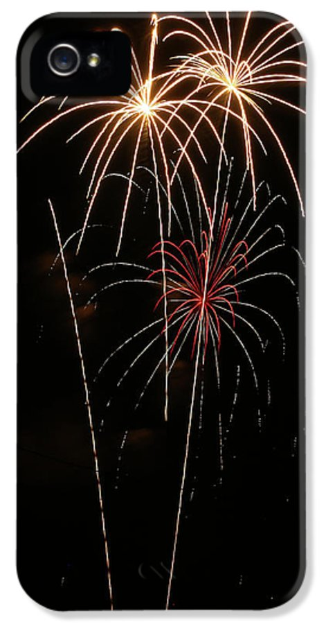 Fireworks IPhone 5 Case featuring the photograph Fireworks by Marti Buckely