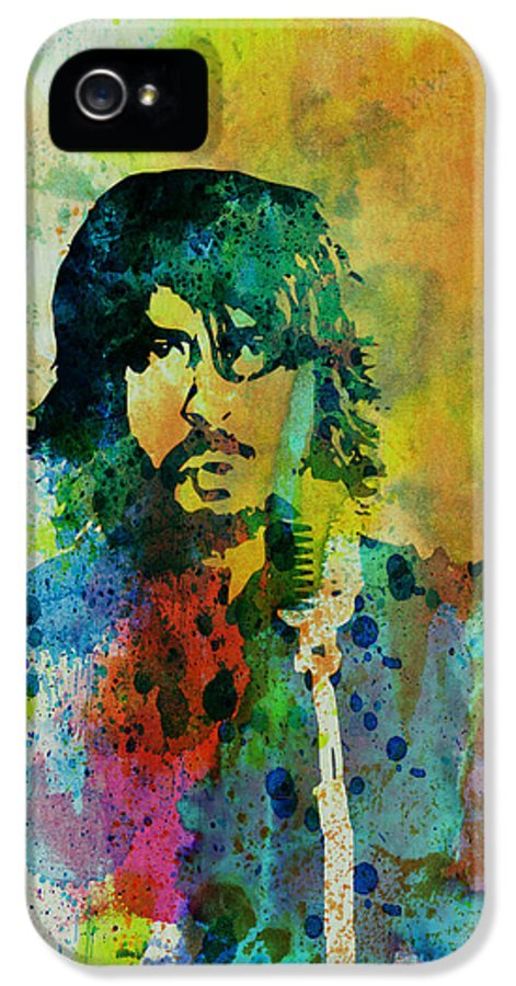 Foo Fighters IPhone 5 Case featuring the painting Foo Fighters by Naxart Studio