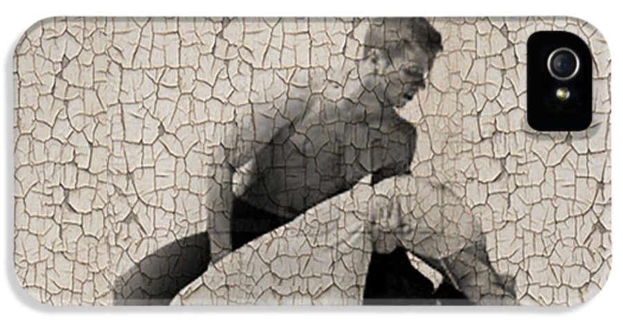 IPhone 5 / 5s Case featuring the digital art Forgotten Romance 4 by Naxart Studio