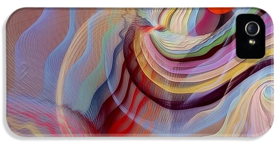 Fractal IPhone 5 Case featuring the digital art Form Accepted In The Heart by Gayle Odsather