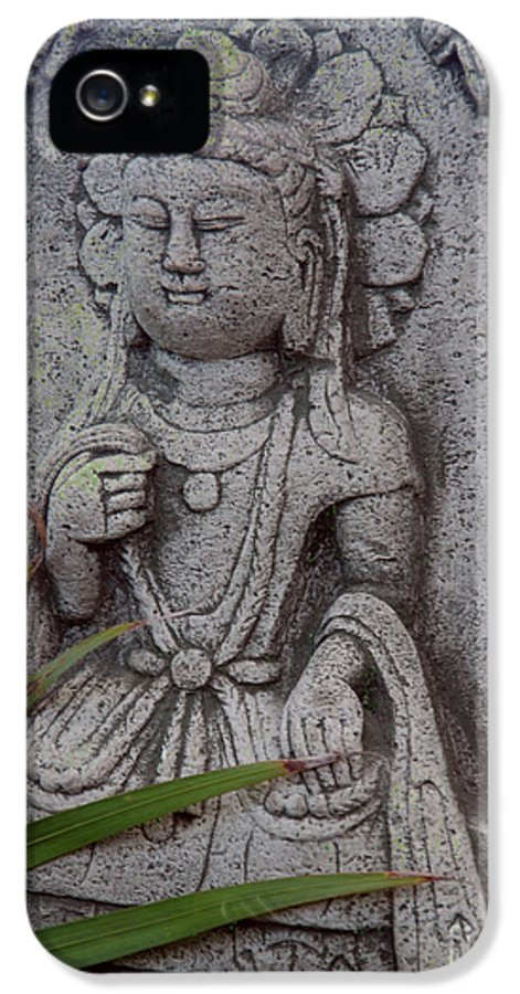 Shiva IPhone 5 / 5s Case featuring the photograph God Shiva by Susanne Van Hulst