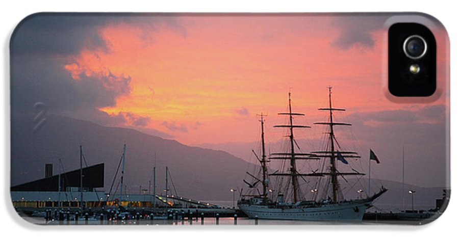 Ship IPhone 5 Case featuring the photograph Gorch Fock by Gaspar Avila
