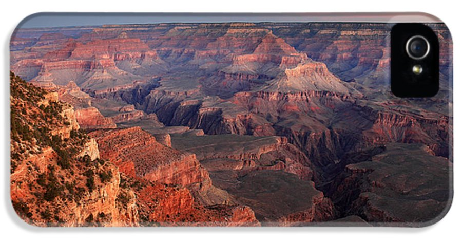 Grand Canyon IPhone 5 Case featuring the photograph Grand Canyon Sunrise by Pierre Leclerc Photography