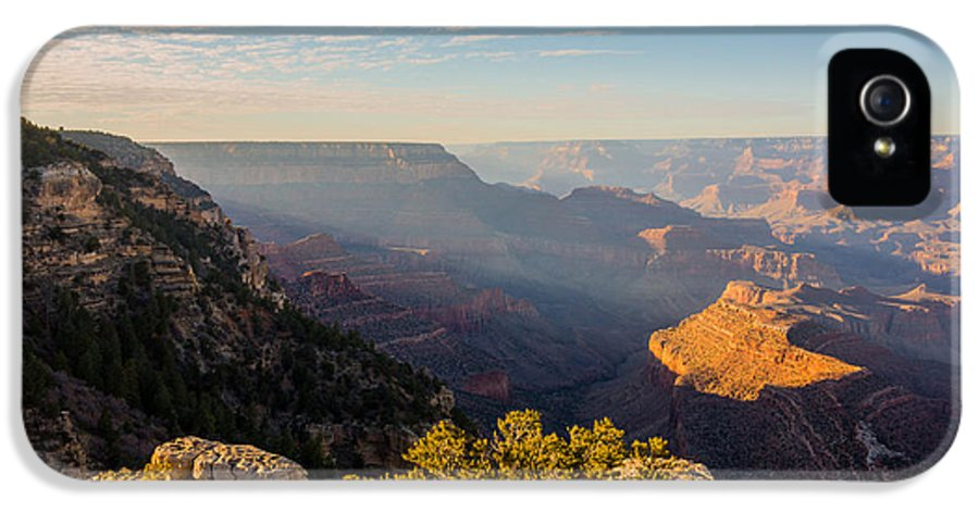 Grandview Sunset Grand Canyon National Park Arizona Az IPhone 5 Case featuring the photograph Grandview Sunset - Grand Canyon National Park - Arizona by Brian Harig