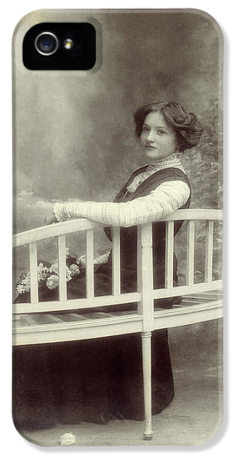 Woman IPhone 5 Case featuring the photograph Great Grandmother by Wim Lanclus