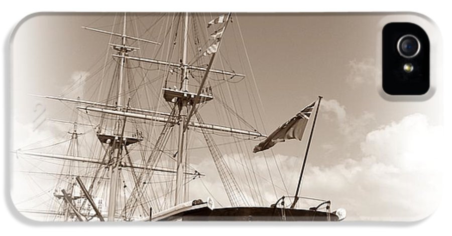 Hms Warrior IPhone 5 Case featuring the photograph Hms Warrior by Sharon Lisa Clarke