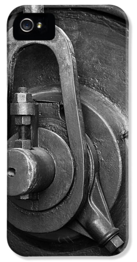 Abandoned IPhone 5 / 5s Case featuring the photograph Industrial Detail by Carlos Caetano