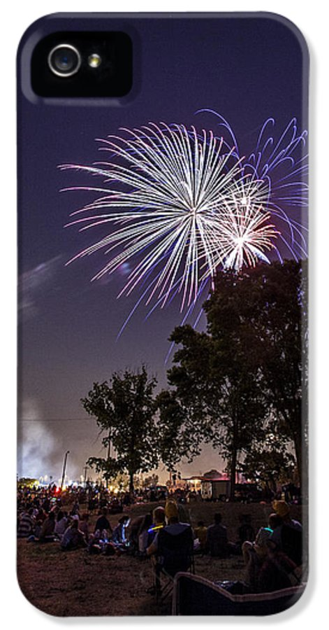 Cj Schmit IPhone 5 Case featuring the photograph July 4th 2012 by CJ Schmit