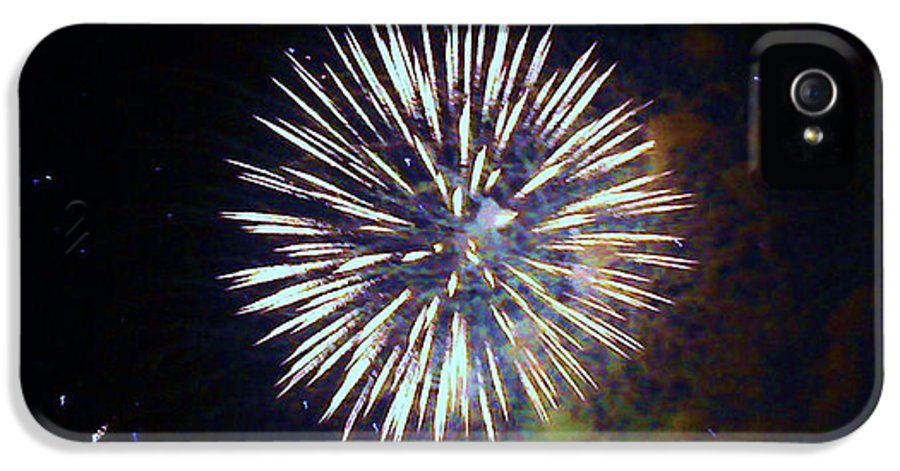 Fireworks IPhone 5 Case featuring the photograph Lets Celebrate by Shana Rowe Jackson