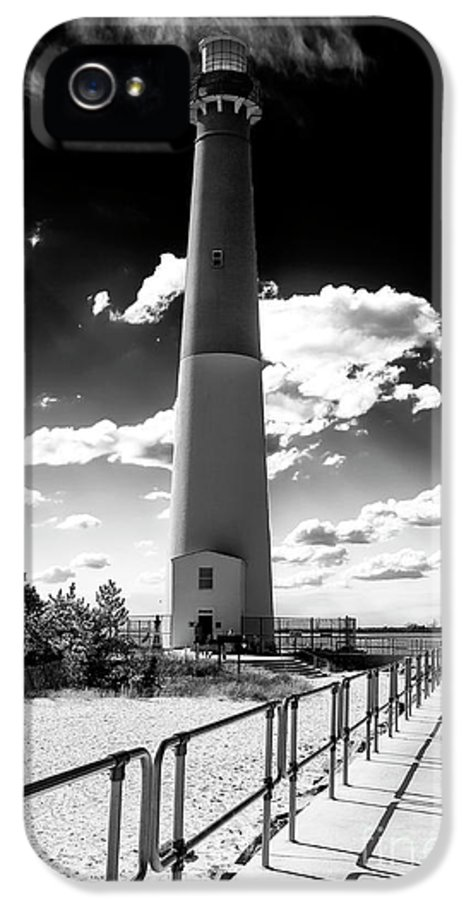 Lighthouse Walk IPhone 5 Case featuring the photograph Lighthouse Walk by John Rizzuto