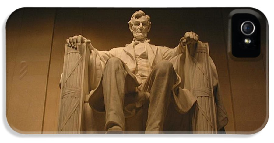 Abraham Lincoln IPhone 5 Case featuring the photograph Lincoln Memorial by Brian McDunn