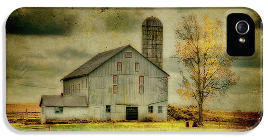 Barns IPhone 5 Case featuring the photograph Looking For Dorothy by Lois Bryan